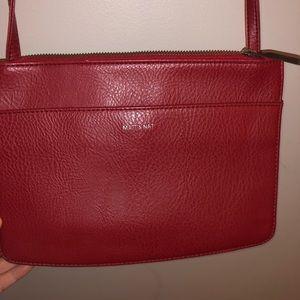 Red Matt & Nat purse